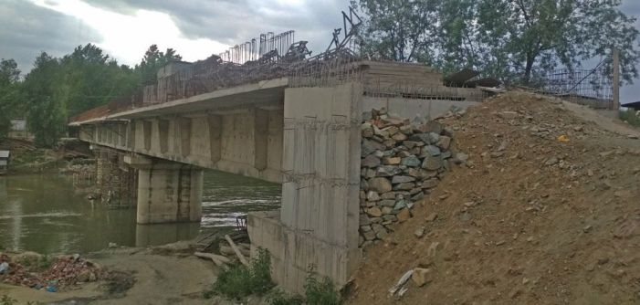 9 years on, Pandrethan Bridge on Srinagar outskirts still a work in progress