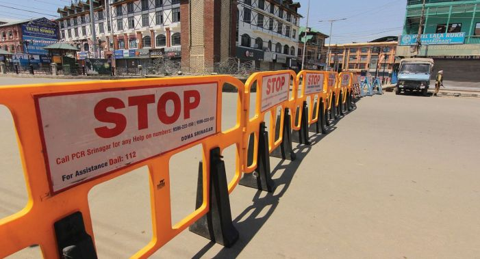 Corona Curfew' Extended in 4 Districts of J&K Till May 10