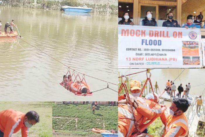 Mock drill to test flood preparedness held at Srinagar