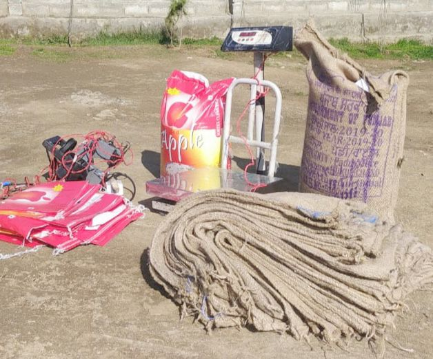 Module selling PDS rice after repacking busted in Bandipora