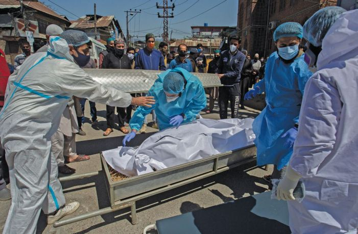 Daily Covid death toll crosses 50-mark in J&K