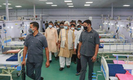 LG inaugurates DRDO's 500-bed Covid hospital in Jammu