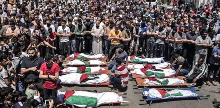 12 women, eight children among 33 killed by Israel airstrikes