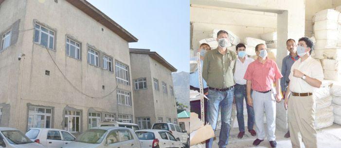'Speed up work on Govt Press Srinagar'
