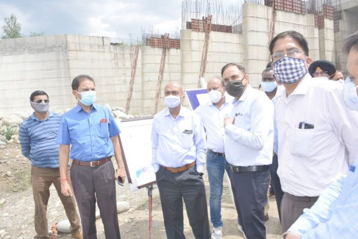 JK, Punjab team inspects Shahpur Kandi Dam Project, call for timely completion