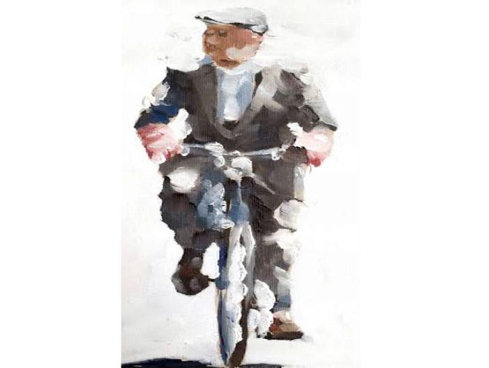 The Old Man on a Bicycle