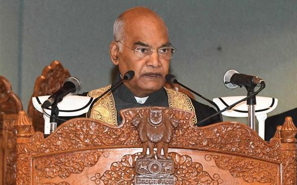 Kashmir realising how democracy reconciles differences: President