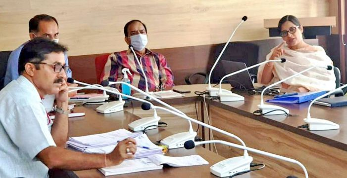 Chairman JKPCC reviews 'Source Apportionment Study of Aerosols and capacity building in Jammu & Srinagar'