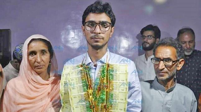 Kulgam farmer's son secures 2nd rank in IES