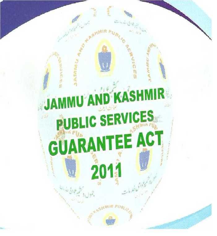 Little impact of J&K Public Guarantees Act
