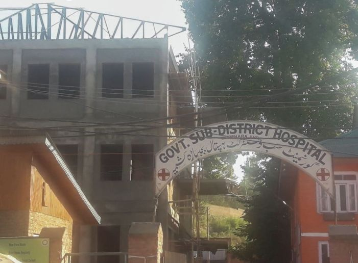 SDH Bijbehara continues to operate from building declared unsafe 7 years ago