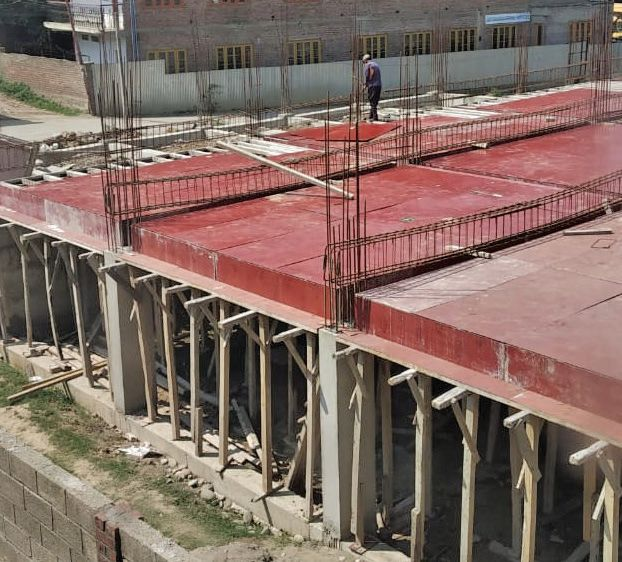 Departments pass the buck as huge commercial complex comes up in Pampore residential area