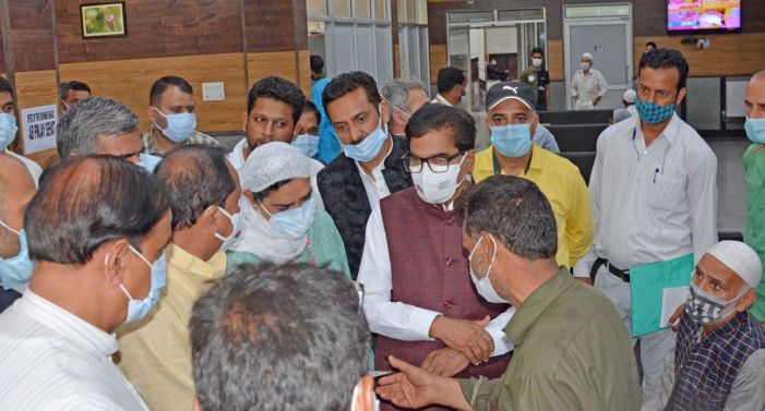 Parliamentary Standing Committee on Health & FW begins tour of Kashmir Valley