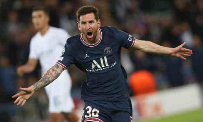 Messi's 1st PSG goal helps beat City; Sheriff stuns Madrid
