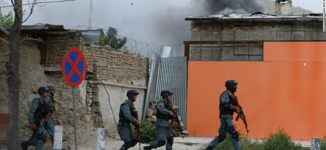 Explosion outside Kabul University kills 6, wounds 27