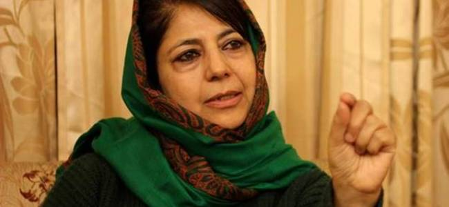 SSDF demands sedition case against Mehbooba Mufti
