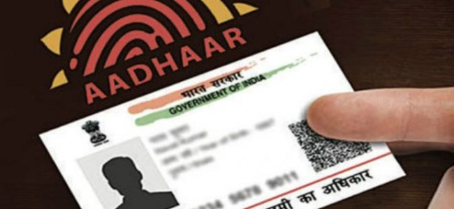 Use of Aadhar card to be made voluntary for SIMs, bank accounts: Govt tables bill