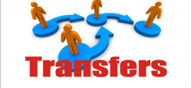 Govt orders transfers, postings
