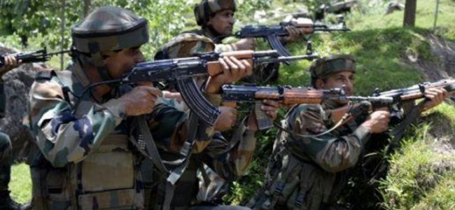 Encounter rages in Pulwama village