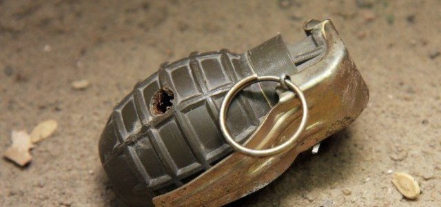 Six troopers injured in grenade blast