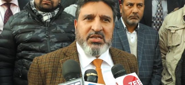 Farooq Abdullah strong candidate to be sent to parliament: Altaf Bukhari