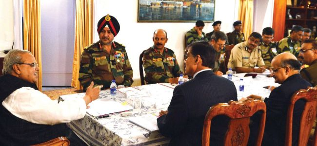 Guv Malik chairs security review meeting