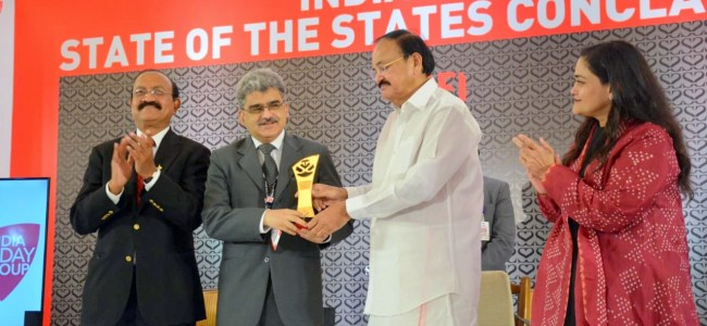JK bags 'Best Performing Large State' award in Health sector