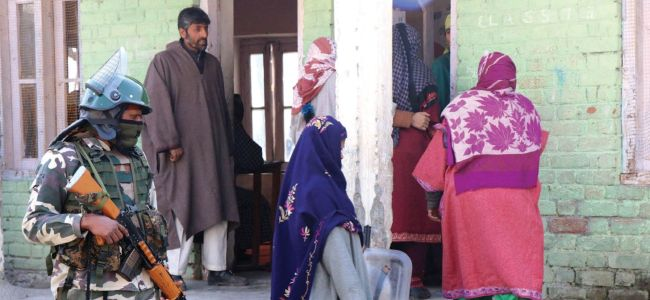 Panchayat Polls: Over 10 percent polling in Bandipora till 11 am