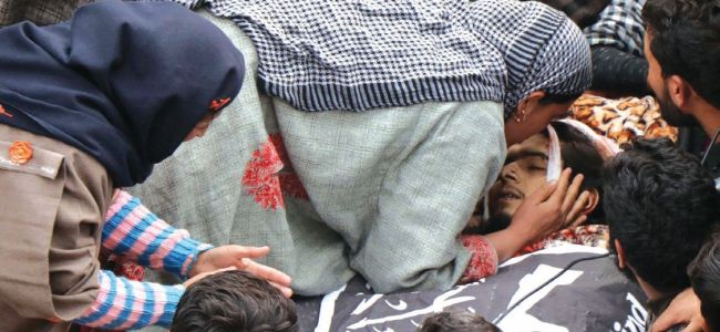 Three militants, soldier killed in two encounters
