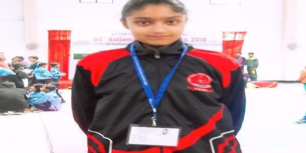 Sadiya Tariq set to represent JK in U-14 Taekwondo