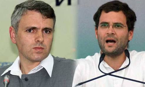 Omar congratulates Rahul over victory in assembly polls
