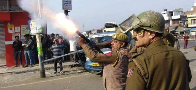 Tension in Kathua as mob torches truck alleging cattle smuggling