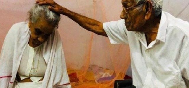 Separated in 1946, couple reunites after 72 years