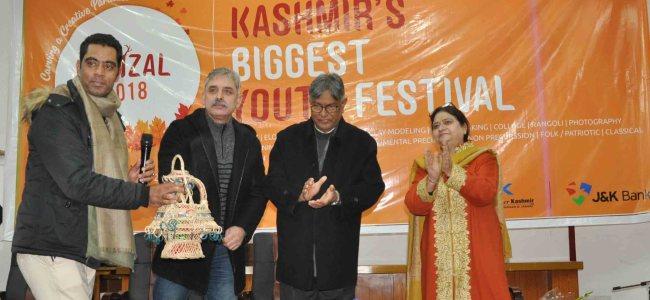 Kashmir University Youth festival 'Sonzal'2018 begins
