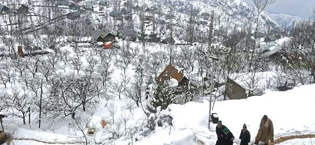 Three houses damaged in Uri, no loss of life, injury reported