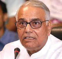 Growth figures being manipulated by Modi govt: Yashwant Sinha