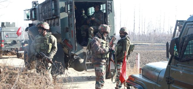 Three militants involved in Nowgan attack on Thursday killed in Pulwama encounter