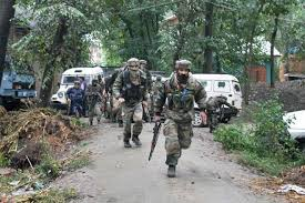 Forces launch search operation in Drabgam Pulwama