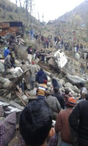 Poonch: 20 feared dead as bus falls in gorge