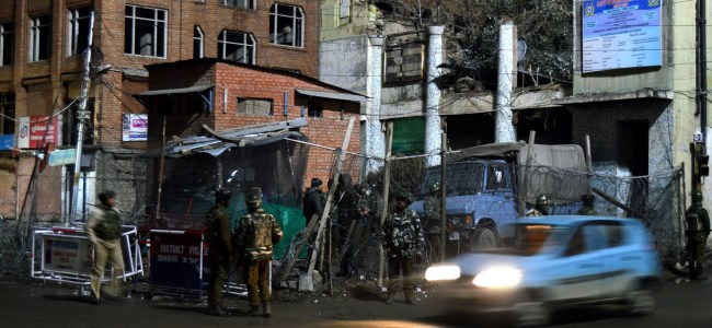 Jaish claims attack on CRPF at Lal Chowk
