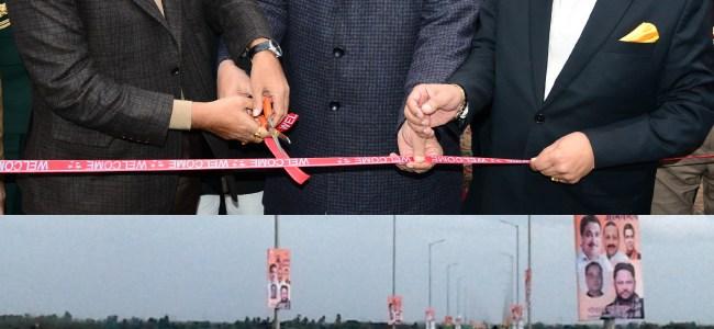 Gadkari inaugurates bridge over Ravi river