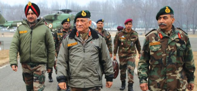 Army will not hesitate to take strong action along Pak border: Gen Rawat