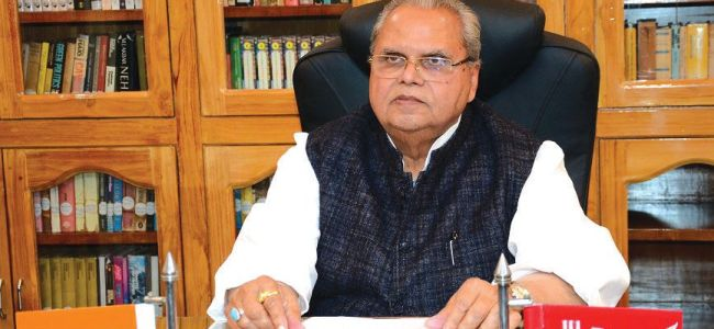 Pak's support for militancy in JK continues: Guv Malik