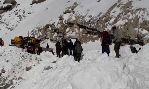 Ladakh avalanche: Four bodies recovered so far