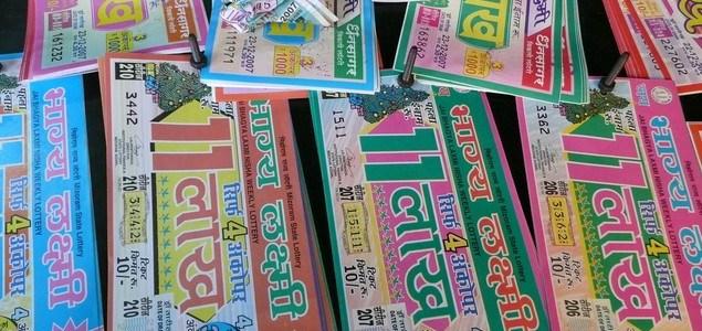 Police arrests a lottery vendor