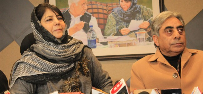Opening of Sharda Peeth in PaK can ease Indo-Pak tensions: Mehbooba