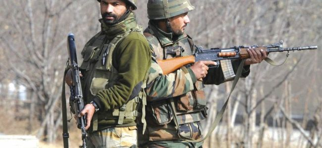 Militant killed in Tral encounter, forces party attacked at Chadoora