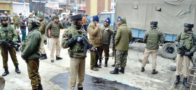Six persons arrested in connection with Srinagar grenade attacks: DGP