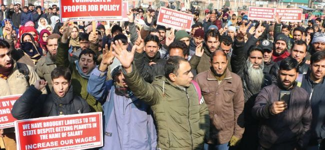 NHM employees begin two day strike, seek fulfillment of demands