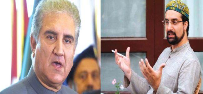 Pak FM Qureshi calls Mirwaiz, discuss Kashmir issue